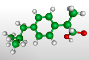 3D model of (R)-ibuprofen