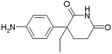 Aminoglutethimide chemical structure