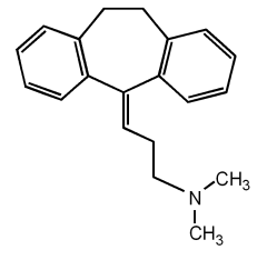 Amitriptyline chemical structure