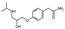 Atenolol chemical structure