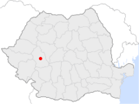Location of Călan