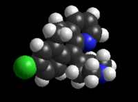 3D Model of desloratadine.