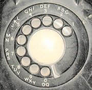 Image of a telephone dial
