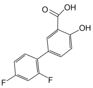 Diflunisal chemical structure