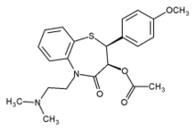 Diltiazem chemical structure