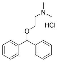 Diphenhydramine chemical structure
