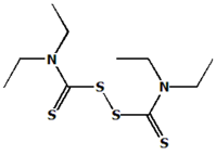 Disulfiram chemical structure