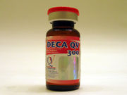 QV Nandrolone Deca, a form of nandrolone abused by atheletes.