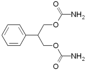 Felbamate ' s chemical structure
