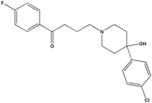 Haloperidol chemical structure