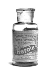Bayer Heroin bottle.