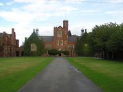 Loughborough Grammar School's quad: only teachers and members of the sixth form can walk on the grass