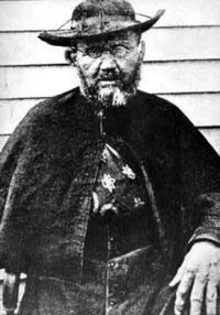 Father Damien was a Roman Catholic missionary who helped lepers on the Hawaiian island of Molokai and also died of the disease.