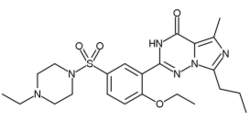 vardenafil chemical structure
