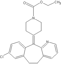 Loratadine chemical structure