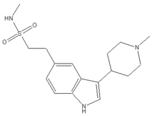 Naratriptan chemical structure