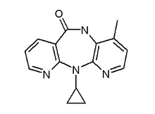 Nevirapine chemical structure