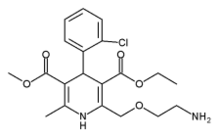 Amlodipine chemical structure
