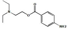 Procaine chemical structure