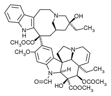 Vincristine chemical structure