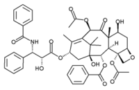Paclitaxel chemical structure