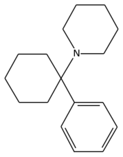 Chemical structure of PCP. (Image in the PD)