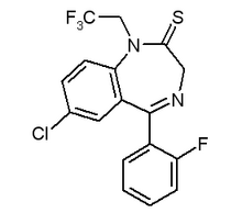 Quazepam chemical structure