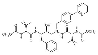 chemical structure of atazanavir
