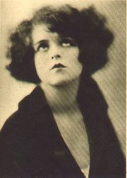 Actress Clara Bow was diagnosed with schizophrenia in 1949.