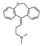 Doxepin chemical structure