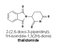 Thalidomide chemical structure