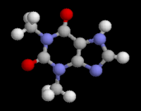 Theophylline chemical structure