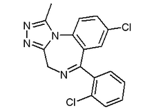 Triazolam chemical structure