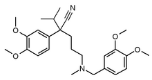 Verapamil chemical structure